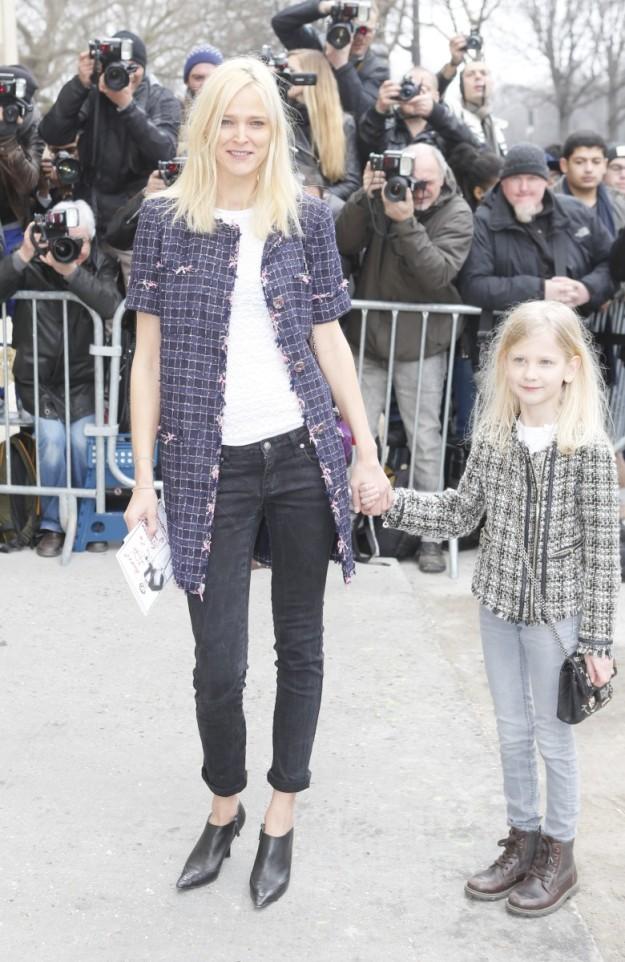 Carmen Kass y su hija.