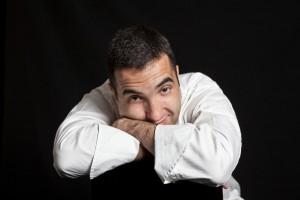 Óscar Velasco, del restaurante Santceloni