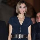La Reina Letizia repite su jumpsuit de Mango