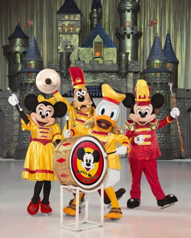 Escena del espectáculo Disney on Ice.