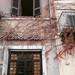 Restaurante en Roma.