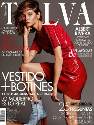 Alba Galocha protagoniza la portada de TELVA abril.