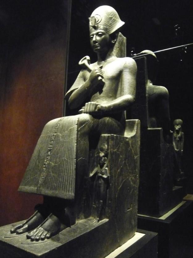 Pieza en el Museo Egipcio.