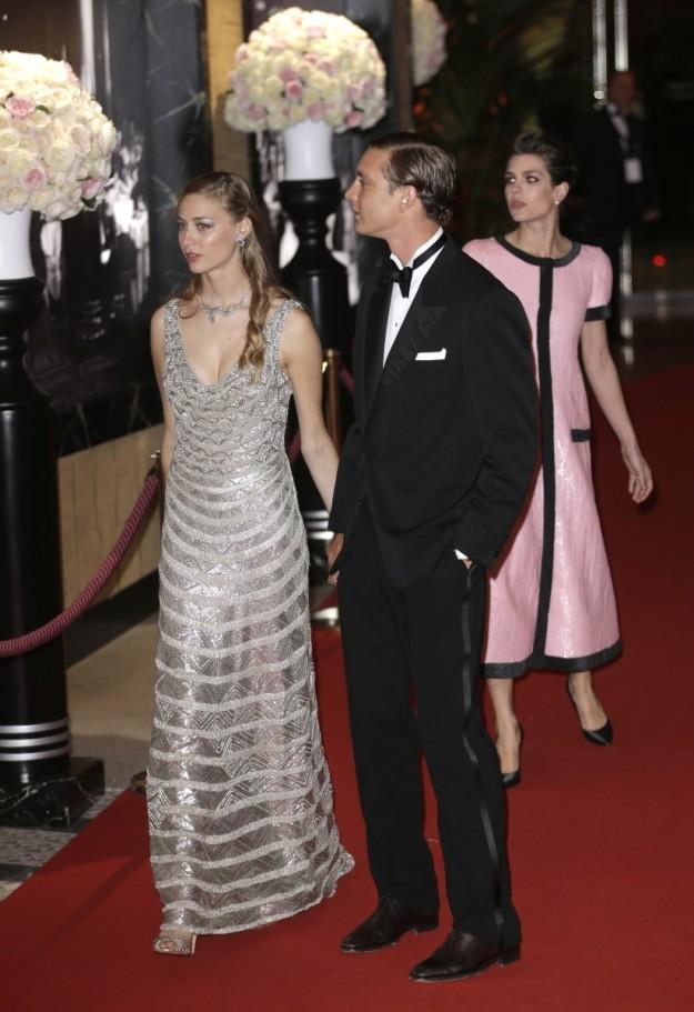 Pierre Casiraghi y Beatrice Borromeo protagonizaron uno de los momentos más bonitos de la noche