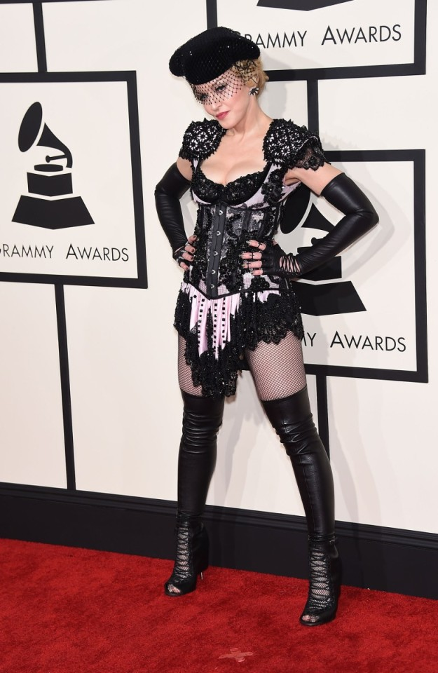 Madonna traje de torera.