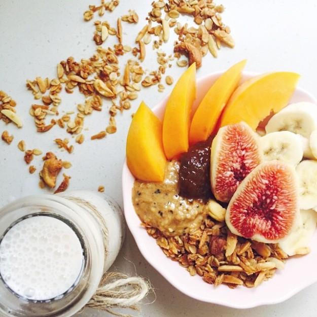 Desayuno instagram.