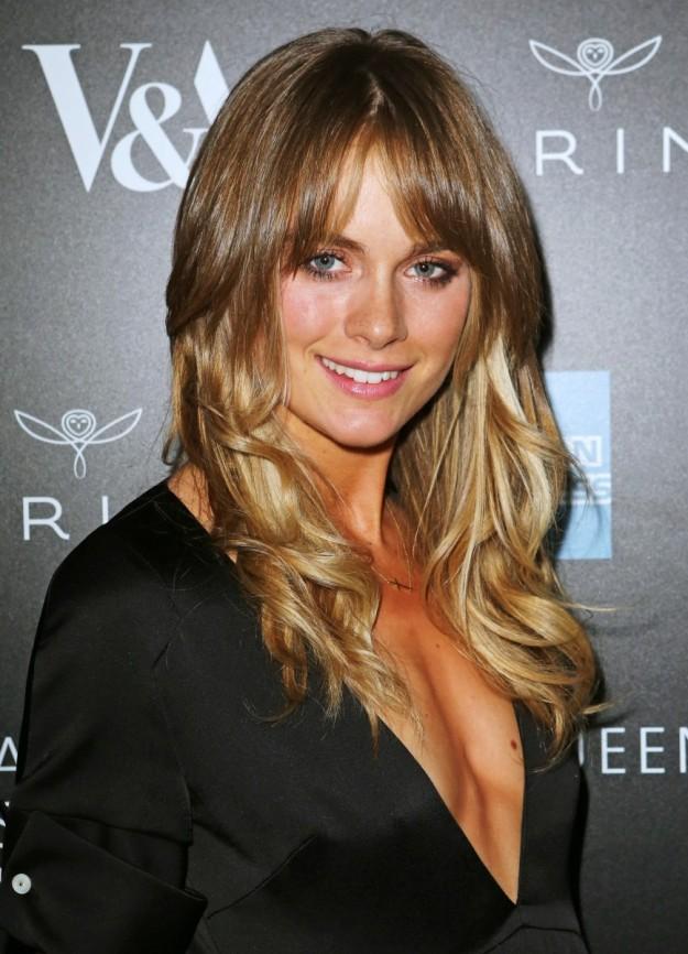 Cressida Bonas en la fiesta de inauguración de la muestra de Alexander McQueen en Londres, hace unas semanas.