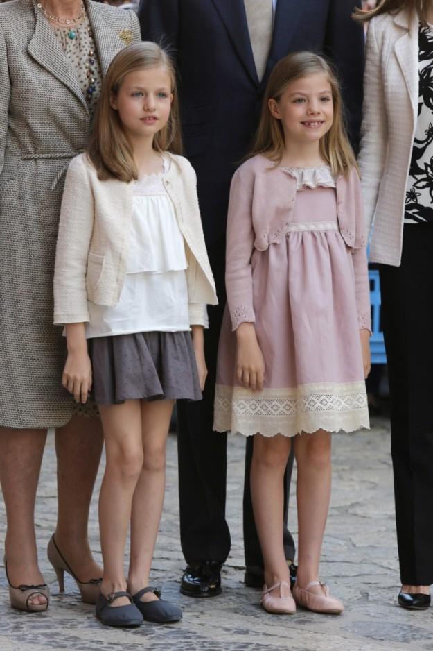 La Princesa Leonor y la Infanta Sofía, protagonistas de la Misa de Pascua en Palma.