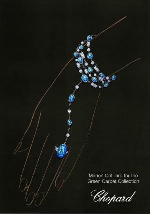 Diseño de la colección Green Carpet de Chopard