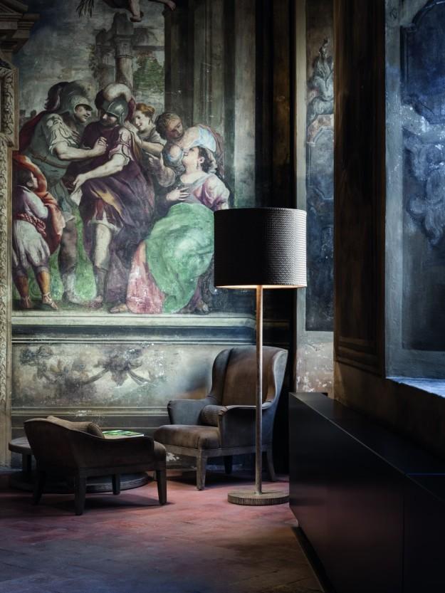 La boutique cuenta con frescos del siglo XVIII