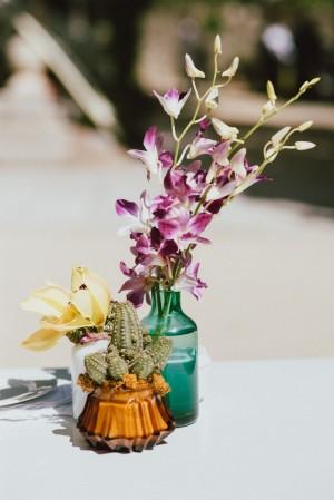 Decoración floral de boda.