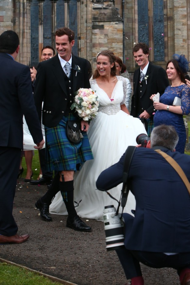 boda andy murray.