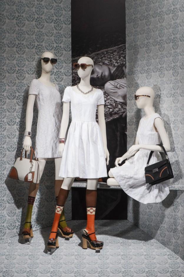 La nueva colección de Prada venera el blanco en todas sus posibilidades