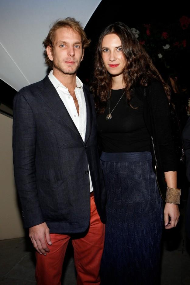 Andrea Casiraghi (30 años) y Tatiana Santo Domingo (31) celebrarán en agosto dos años de casados.