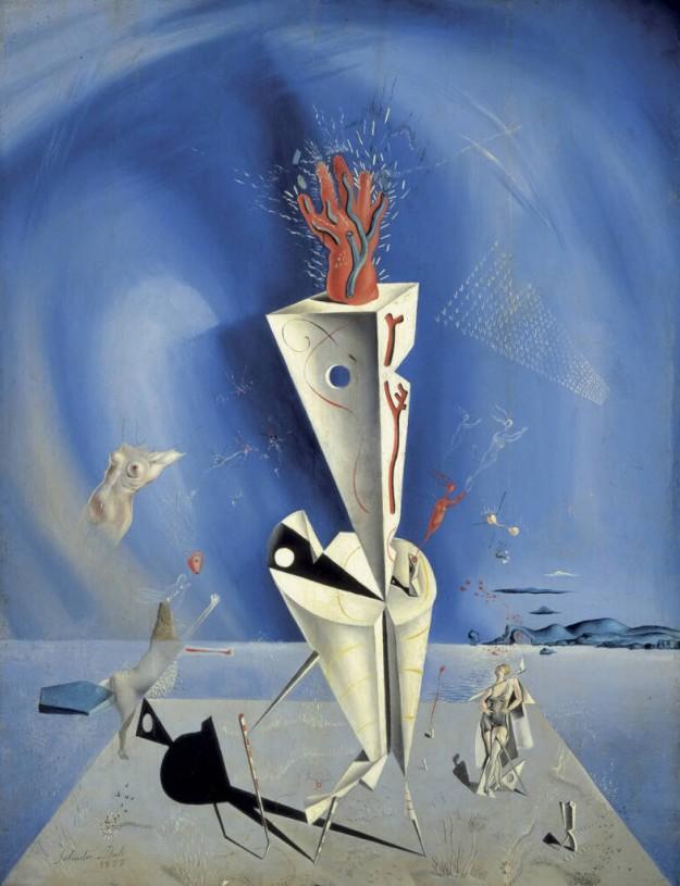 Aparato y mano, de Salvador Dalí.