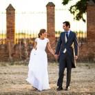 Una boda clásica y cargada de detalles