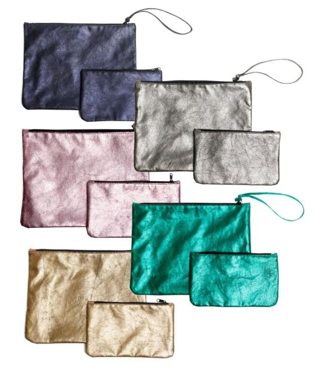 Cartera y neceser TELVA, disponible en 5 colores diferentes. De regalo con TELVA mayo.