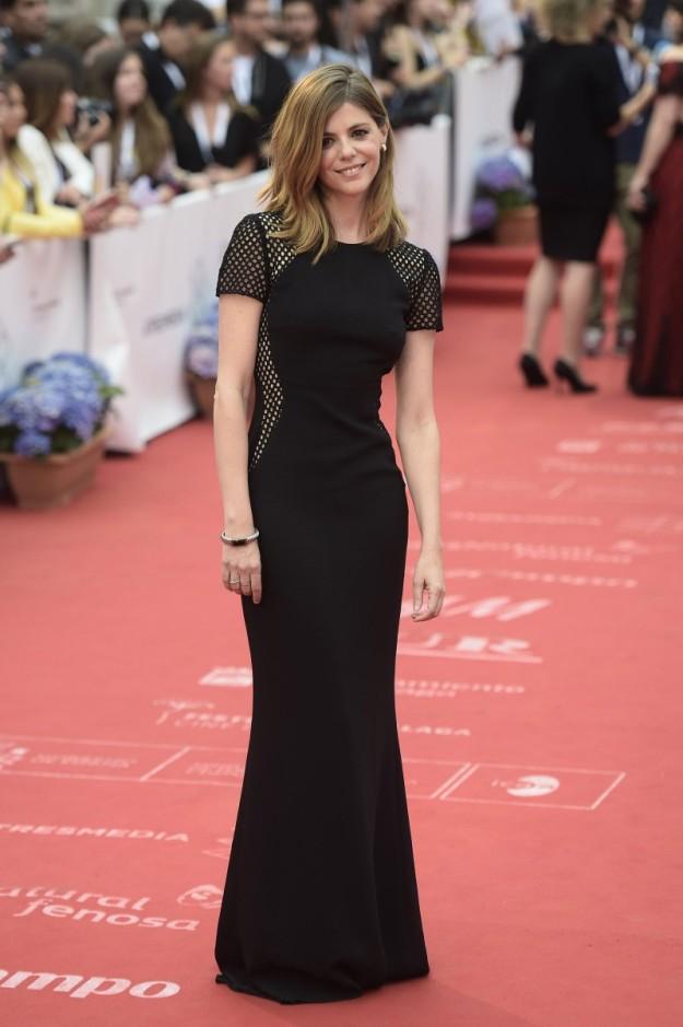 Manuela Velasco acertó con este vestido de Stella McCartney.