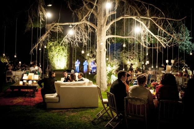 Cena de boda