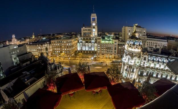 Conoce la terraza de The Principal, con unas vistas privilegiadas de Madrid