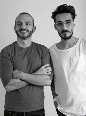 Juan Carlos Fernandez y Antonio Burillo , diseñadores de The 2nd Skin