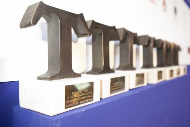 Premios T de TELVA a la Solidaridad 2015, edición XXII.