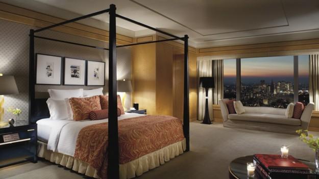 Suite del Ritz-Carlton en Tokio.