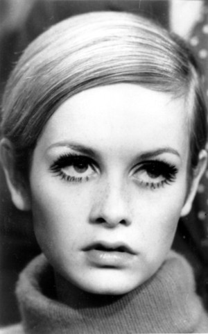 Su rostro, todo un icono del Swinging London de los 60.