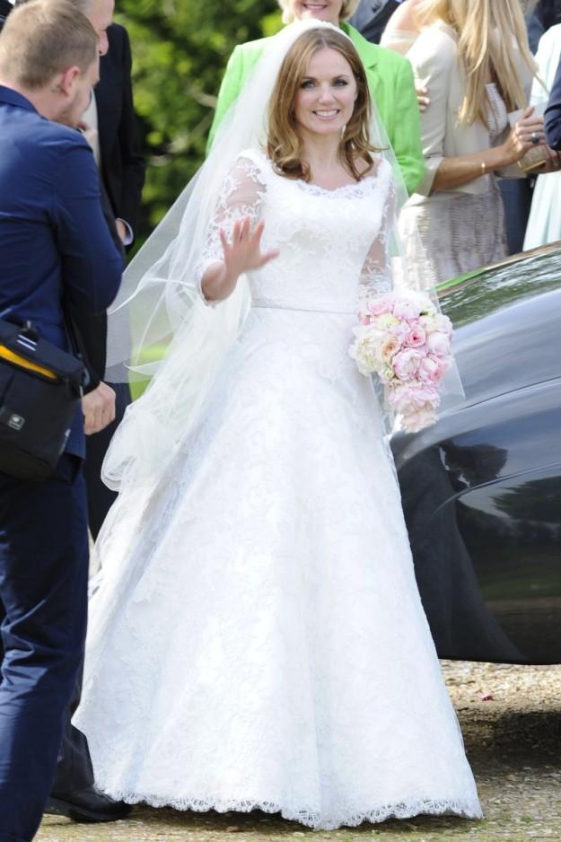 Geri Halliwell boda.