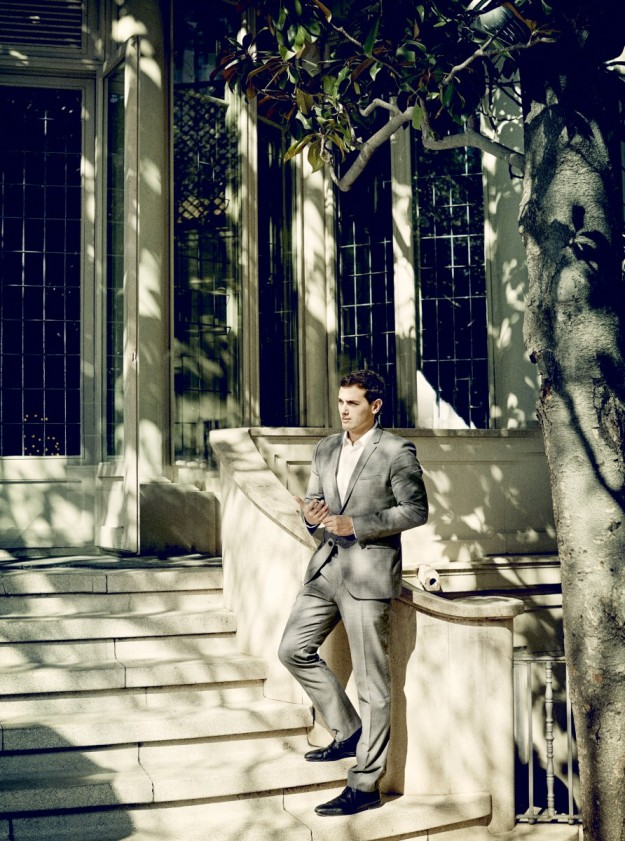 Albert Rivera en la terraza del restaurante El Principal de Barcelona