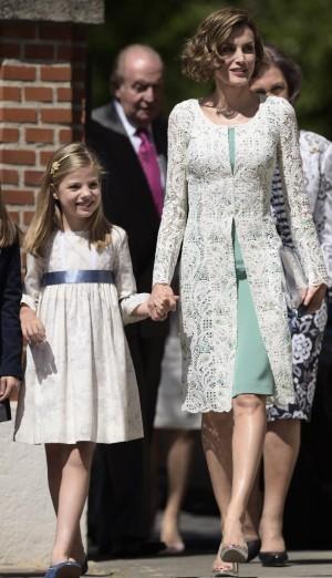La reina Letizia y Leonor