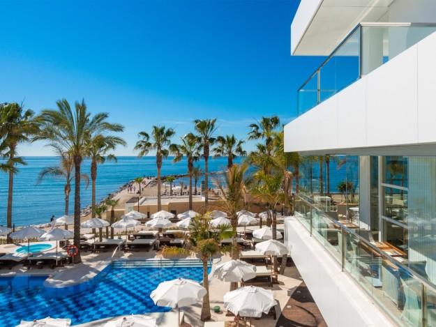 Un paraíso con exclusivas vistas al Mediterráneo.