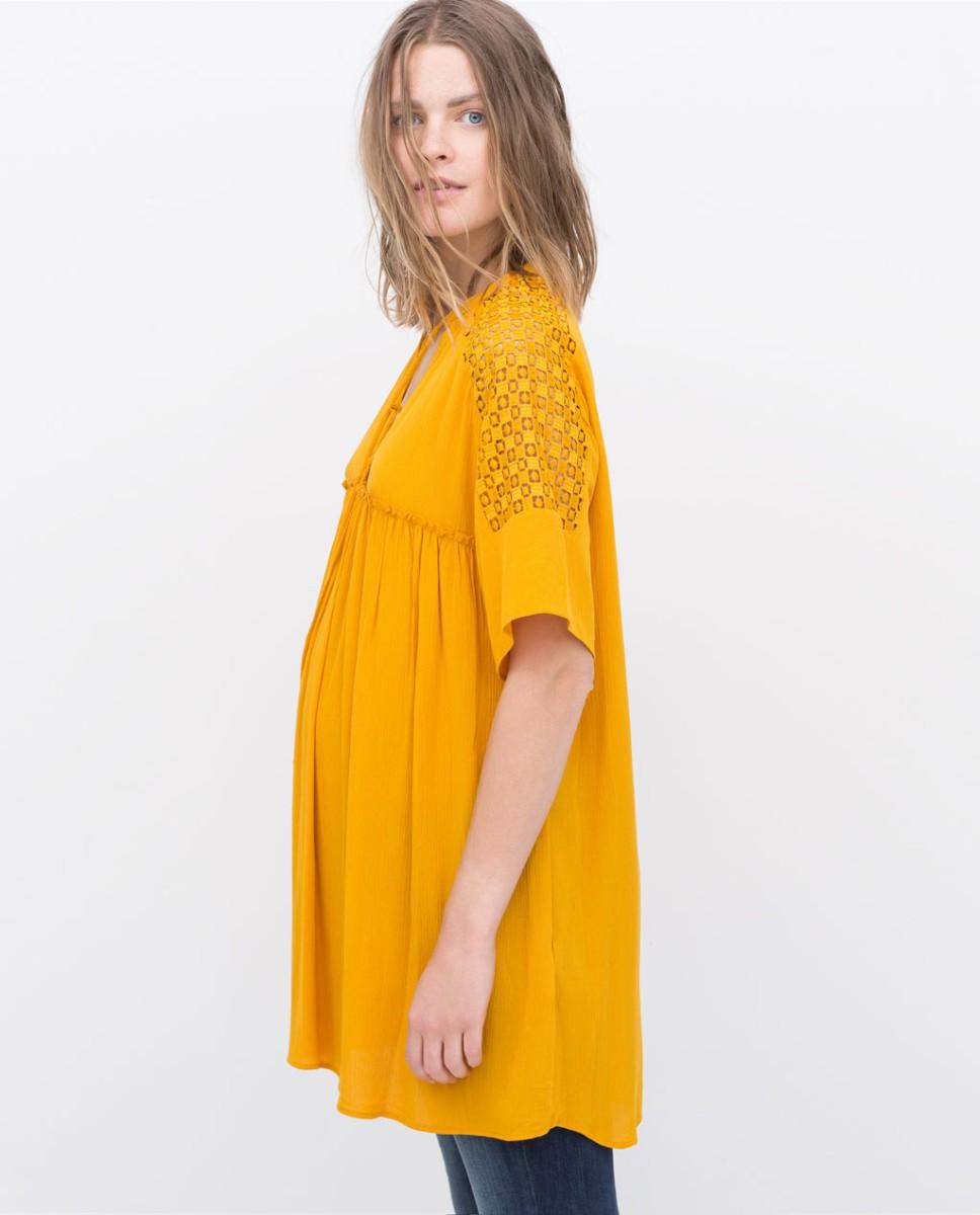 precios baratass nueva selección tienda Zara presenta una línea especial para embarazadas | TELVA