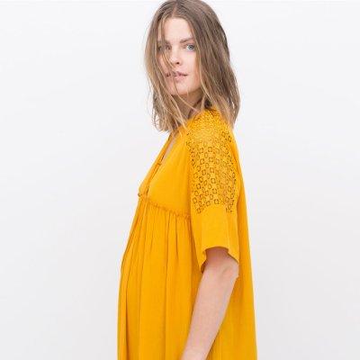 Zara presenta una línea especial para embarazadas