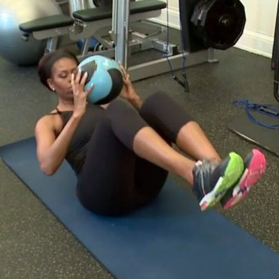 El entrenamiento de Michelle Obama