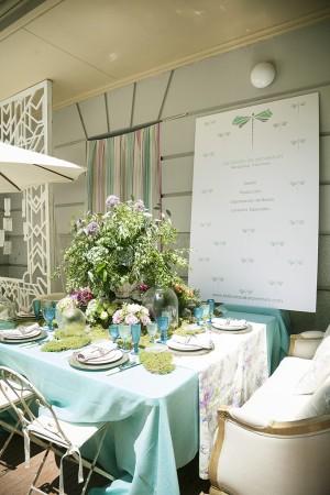 La decoración de las mesas hizo de las asistentes que no dejaron de coger ideas para sus bodas y eventos.