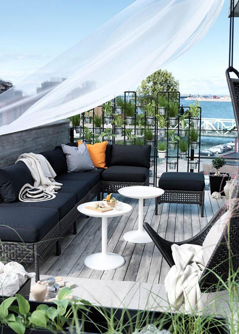 7a6543b07 Nunca es un mal momento para pensar en un clima más cálido sentado en la  terraza de tu casa disfrutando del sol y del buen tiempo. Por ello Ikea te  trae ...