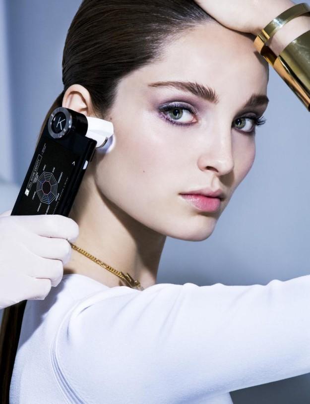 La tecnología pone al servicio de la belleza las máquinas más innovadoras para el análisis de la piel.
