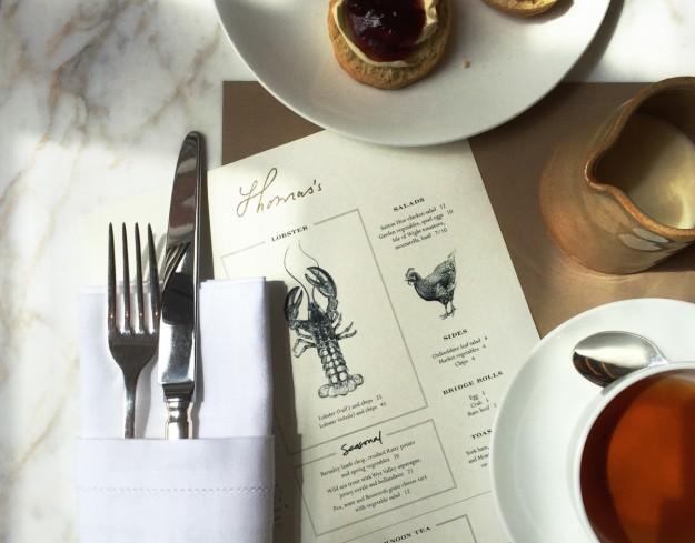 El Café Thomas's tiene una carta amplia, apta para cualquier momento del día