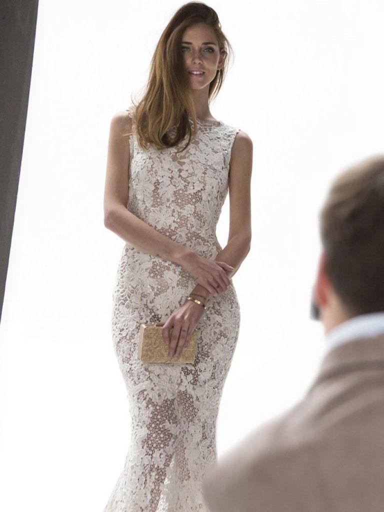 a63642aafc Así sería el vestido de novia perfecto de Chiara Ferragni