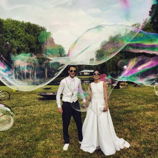 Noor y Alexandre han sido protagonistas de una boda de ensueño