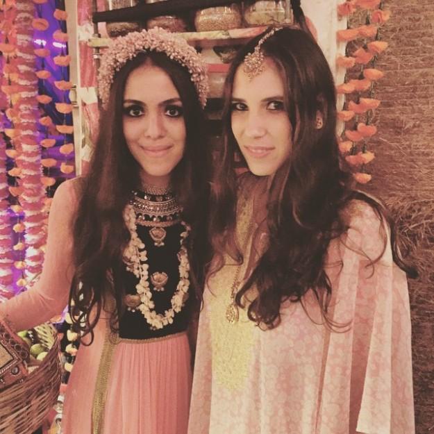Tatiana Santo Domingo es íntima amiga de Noor Fares