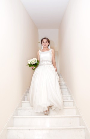 Vestido de novia de Isabel Zapardiez.