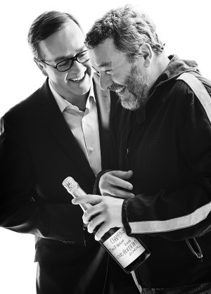 Frédéric Rouzaud y Philippe Starck
