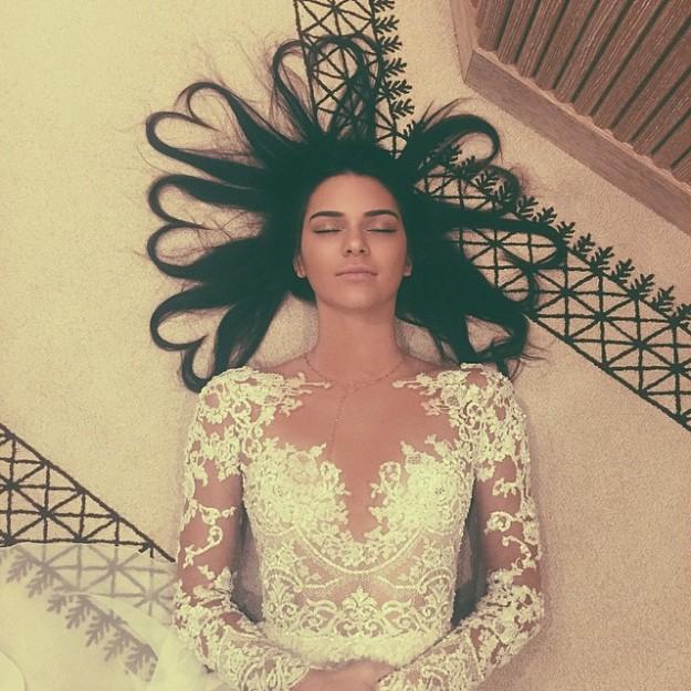 Kendall logró con esta foto 2,6 millones de likes