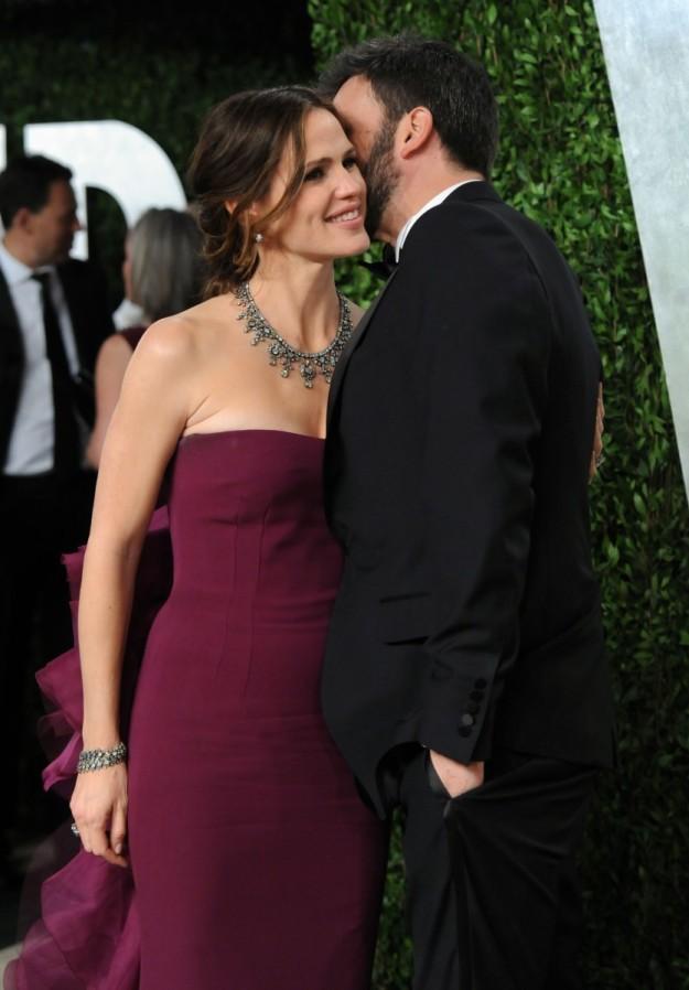 La pareja en los Oscars de 2013, año en que él recibió el reconocimiento de la academia por la película Argo, que dirigió.