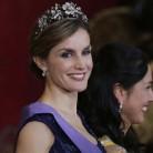 Letizia se viste de Princesa de cuento
