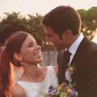 Una boda en el jardín de casa