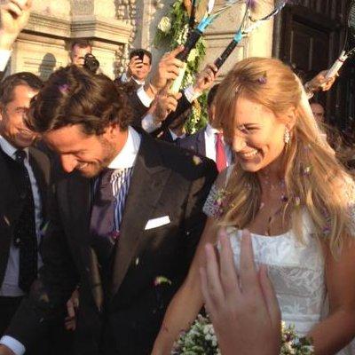 La boda de Alba Carrillo y Feliciano López, en Instagram