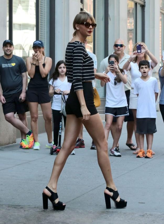 Taylor Swift en su concierto en Colonia